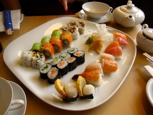 Sushi and Tea