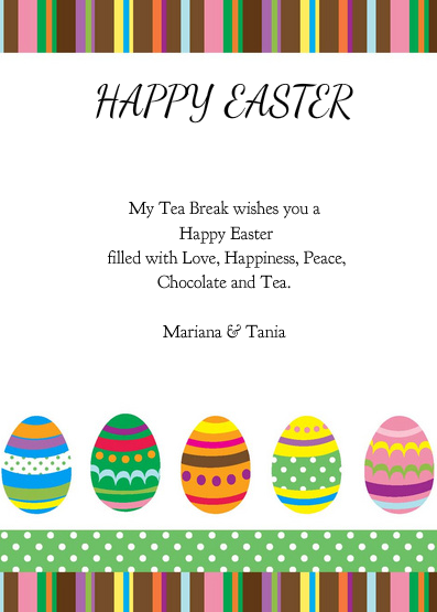 My Tea Break Easter Card 2013