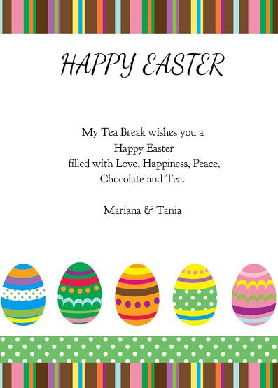 My Tea Break Easter Card 2013